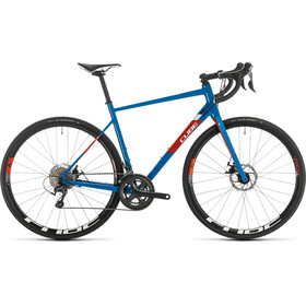 Cube Attain Race Disc, blue'n'red